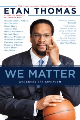 Cover image for We matter : athletes and activism