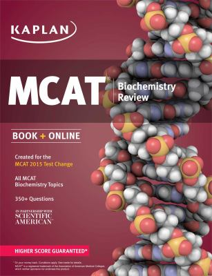 Cover image for MCAT biochemistry review
