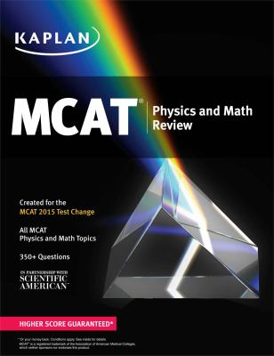Cover image for MCAT physics and math review