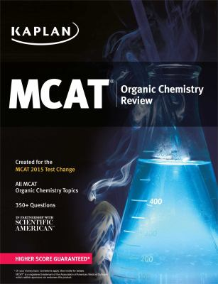 Cover image for MCAT organic chemistry review
