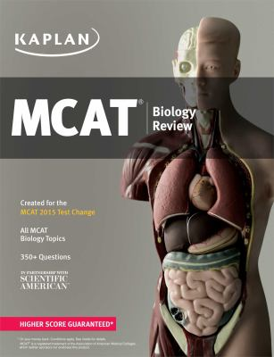 Cover image for MCAT biology review