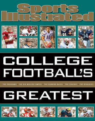 Cover image for College football's greatest