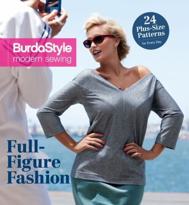 Cover image for BurdaStyle modern sewing. Full-figure fashion