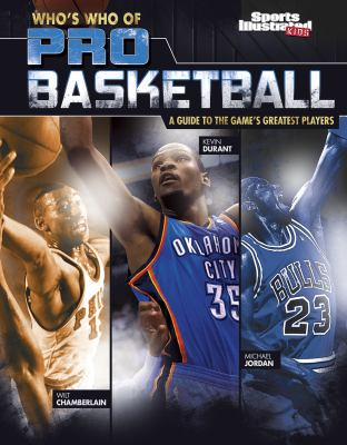 Cover image for Who's who of pro basketball : a guide to the game's greatest players