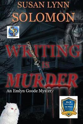 Cover image for Writing is murder : an Emlyn Goode mystery
