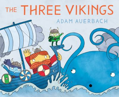 Cover image for The three vikings