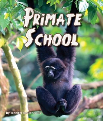 Cover image for Primate school