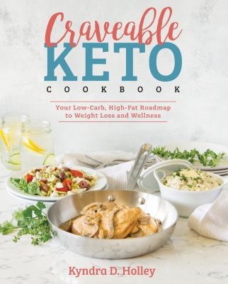 Cover image for Craveable keto cookbook