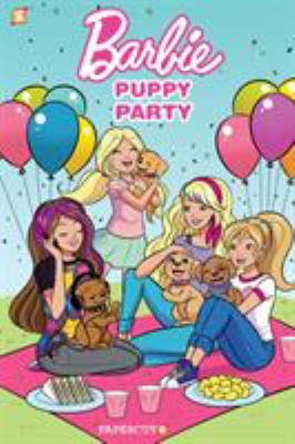 Cover image for Barbie : puppy party