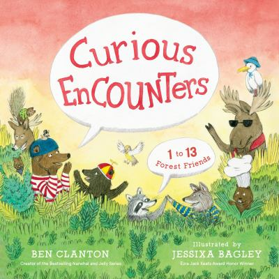 Cover image for Curious encounters : 1 to 13 forest friends