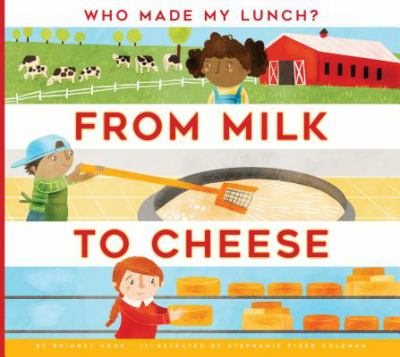 Cover image for From milk to cheese