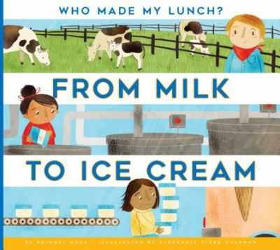 Cover image for From milk to ice cream