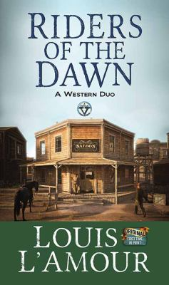 Cover image for Riders of the dawn : a western duo