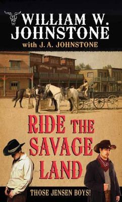 Cover image for Ride the savage land
