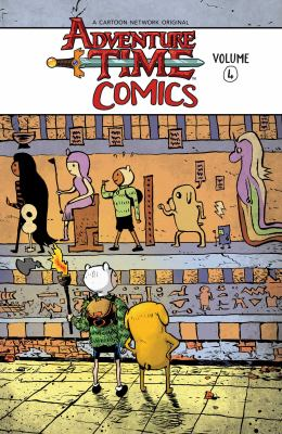 Cover image for Adventure time comics. Volume 4
