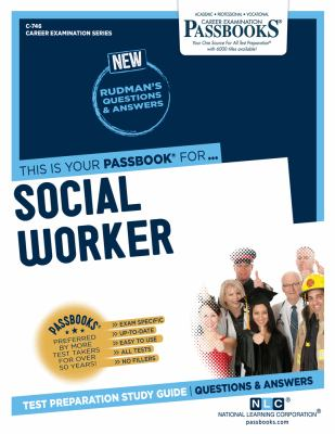 Cover image for Social worker : [test preparation study guide : questions & answers]