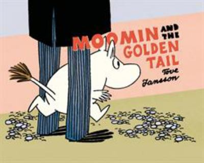Cover image for Moomin and the golden tail
