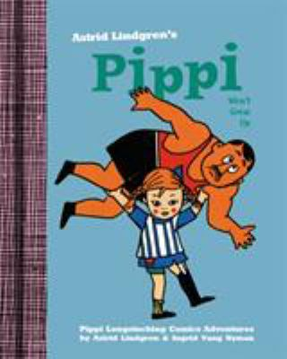 Cover image for Pippi won't grow up