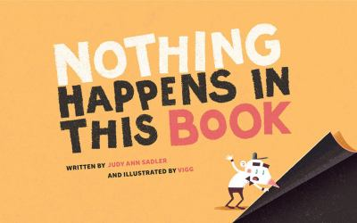 Cover image for Nothing happens in this book