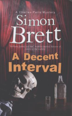 Cover image for A decent interval : a Charles Paris novel