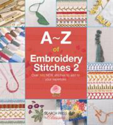 Cover image for A-Z of embroidery stitches 2