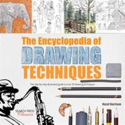 Cover image for The encyclopedia of drawing techniques