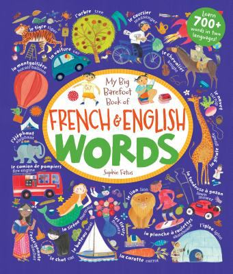 Cover image for My big barefoot book of French & English words