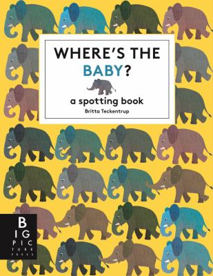 Cover image for Where's the baby? : a spotting book