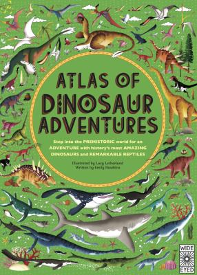 Cover image for Atlas of dinosaur adventures