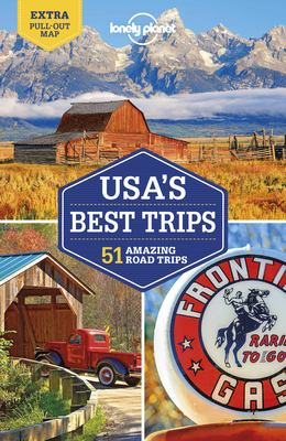Cover image for USA's best trips : 51 amazing road trips