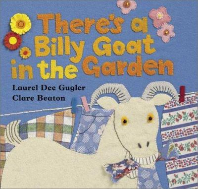 Cover image for There's a billy goat in the garden : based on a Puerto Rican folk tale