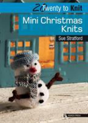 Cover image for Mini Christmas knits