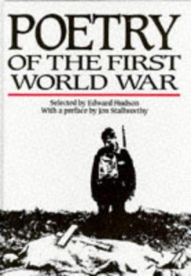 Cover image for Poetry of the First World War