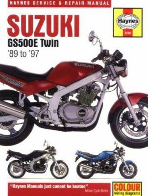 Cover image for Suzuki GS500E twin : service & repair manual