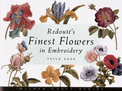 Cover image for Redoutés finest flowers in embroidery