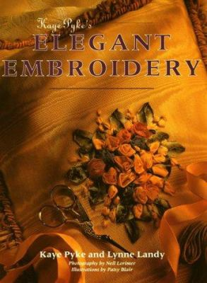 Cover image for Kaye Pyke's elegant embroidery