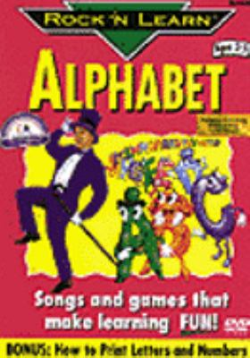 Cover image for Rock 'n learn. Alphabet