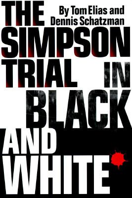Cover image for The Simpson trial in black and white