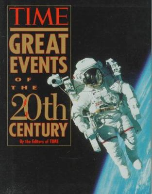 Cover image for Time great events of the 20th century