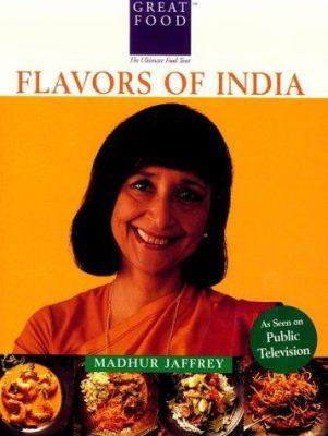 Cover image for Madhur Jaffrey's flavors of India.