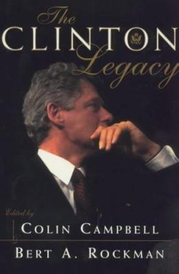 Cover image for The Clinton legacy