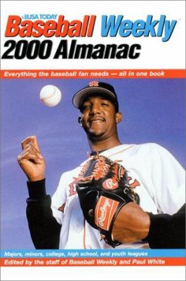 Cover image for Baseball Weekly 2000 almanac : everything the baseball fan needs -- all in one book
