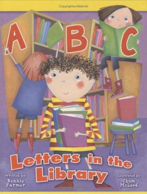 Cover image for ABC : letters in the library