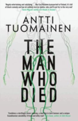 Cover image for The man who died