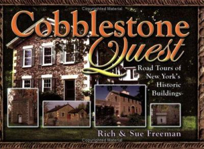 Cover image for Cobblestone quest : road tours of New York's historic buildings