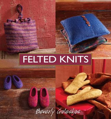 Cover image for Felted knits