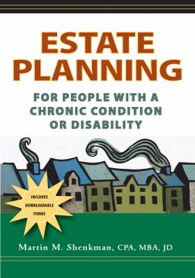 Cover image for Estate planning : for people with a chronic condition or disability