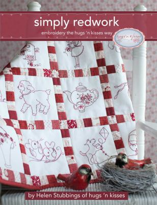 Cover image for Simply redwork : embroidery the hugs 'n kisses way