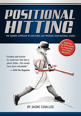 Cover image for Positional hitting : the modern approach to analyzing and training your baseball swing