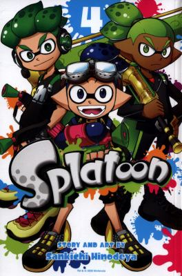 Cover image for Splatoon. Vol. 4